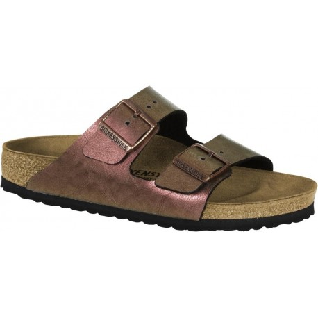 BIRKENSTOCK ciabatta sandalo 2 cinturini ARIZONA 1012397 GRACEFUL GEMM RED rosa antico