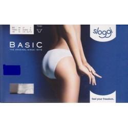 SLOGGI mutandina donna in cotone BASIC TANGA confezione 1 slip BIANCO