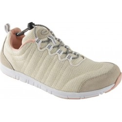 Dr SCHOLL scarpa sportiva sneaker WIND STEP BEIGE lurex plantare memory leggera
