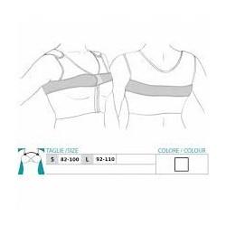 ORIONE fascia post-operatoria regolabile posizionatore protesi per seno art.9001