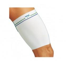 Dr.GIBAUD sport COSCIALE ELASTICO cod.1301 contiene coscia elasticizzato bianco