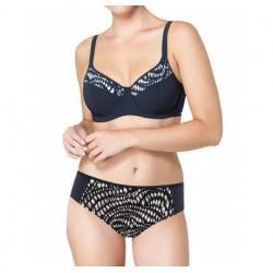 TRIUMPH costume due pezzi con ferretto KINETIC ELEGANCE W bikini NERO coppa F