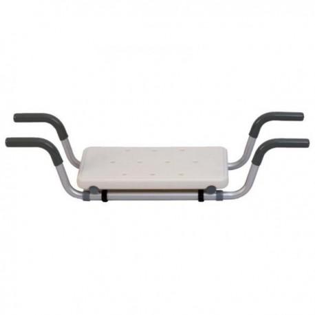 TERMIGEA SEDILE da VASCA antiscivolo telaio in alluminio regolabile BA18 100kg