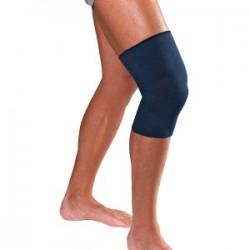 Dr.GIBAUD ginocchiera sportiva blu 0516 cotone elasticizzato linea classic