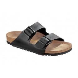 BIRKENSTOCK ciabatta sandalo 2 cinturini ARIZONA 051793 Birko Flor Black Nero
