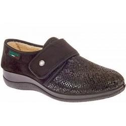 PODOLINE scarpe invernali riabilitative postoperatorie AGIRA interno pile/pellicia NERO