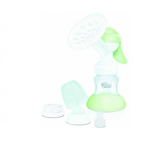 CAMI tiralatte manuale BABY MANUAL MILK morbido silicone con biberon 140ml