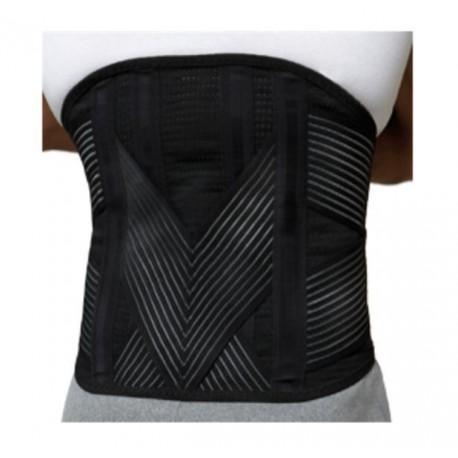 Dr.GIBAUD cintura ACTION H35 cod.0133 h.35cm elastica chiusura velcro nera