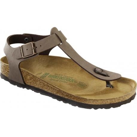BIRKENSTOCK sandali infradito KAIRO 147131 BirkoFlor MOCCA cinturino alla caviglia