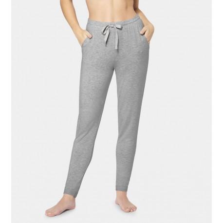 TRIUMPH pantaloni morbidi leggings CLIMATE CONTROL TROUSERS jersey traspirante GRIGIO 10194641