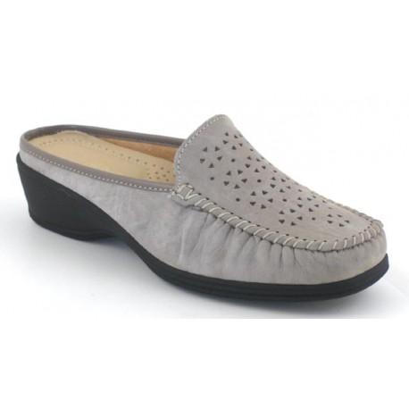 BENEXA morbida scarpa sabot 2987 RENNA AVANA plantare sottopiede pelle traforata