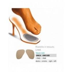 ORIONE 113 MINI CUSCINETTI INVISIBILI in gel-tessuto per scarpe TAGLIA UNICA