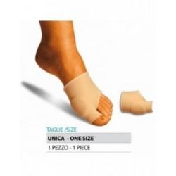 ORIONE G103 PROTEZIONE ALLUCE VALGO IN GEL rivestito tessuto elastico TAGLIA UNICA