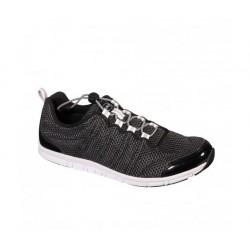 Dr SCHOLL scarpa estiva sportiva sneaker WIND STEP NERO plantare memory leggera