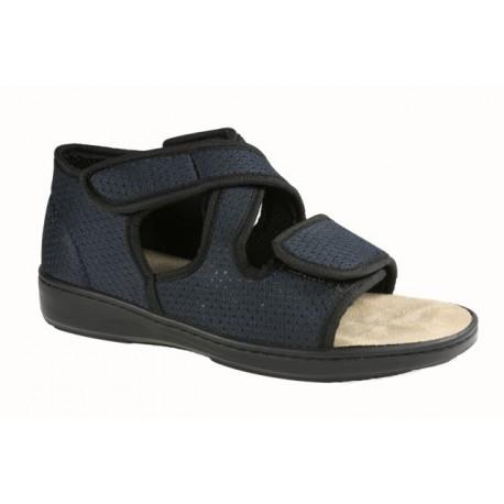 LOREN sandali riabilitativi uomo e donna U9209 ampia regolazione con strappi plantare estraibile BLU