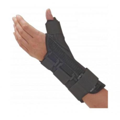 Dr.GIBAUD ortesi tutore ortopedico polso pollice FORM FIT PP 0729 SX sinistro nero chiusura strappi