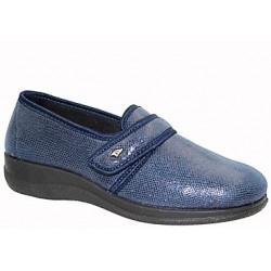 PODOLINE scarpa riabilitativa ORICOLA setaflex elasticizzata STRETCH STRAUSS BLU