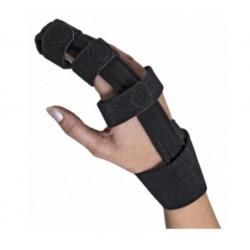 Dr.GIBAUD tutore DITA cod.0736 ortho ortopedico nero chiusura velcro