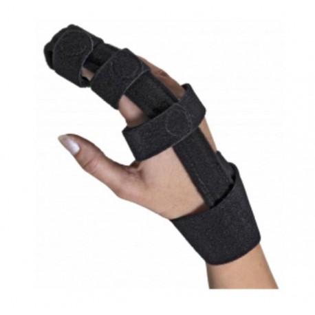Dr.GIBAUD ortho tutore ortopedico DITA cod.0736 stecca dito chiusura strappi NERO