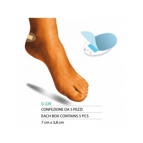 SAFTE CEROTTI IDROCOLLOIDE PER VESCICHE 5 pezzi ART.G226