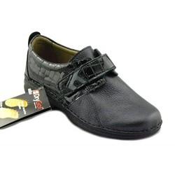 LOREN scarpe ortopediche plantare estraibile M2688 pelle di cervo ABISSO 1 strappo