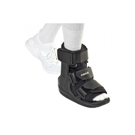Dr.GIBAUD ortho 0631 WALKER EQUALIZER BASSO Tutore ortopedico fisso per tibio-tarsica NERO