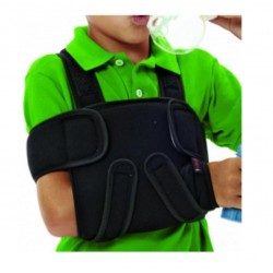 Dr.GIBAUD TUTORE DI SPALLA cod.J1512 ortho ortopedico regolabile pediatrico nero