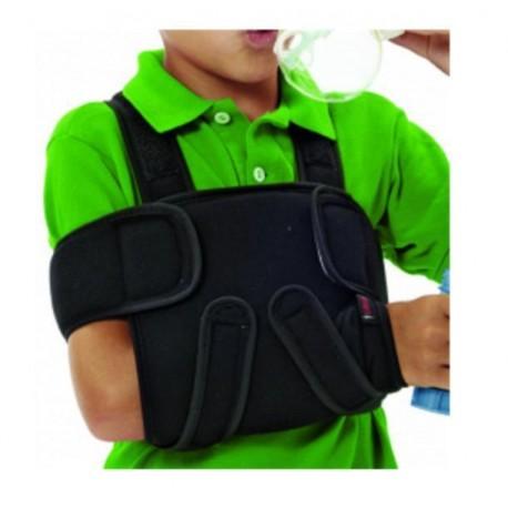 Dr.GIBAUD TUTORE DI SPALLA bambino cod.J1512 ortho ortopedico regolabile pediatrico nero