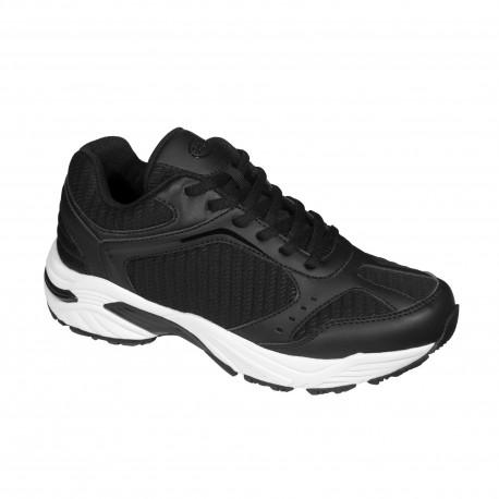 SCHOLL scarpa ginnastica sportiva SPRINTER BRISK plantare Biomechanics BLACK NERO