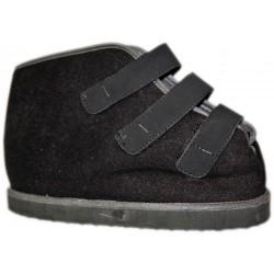 OASI scarpa COPRIGESSO 117 con strappi NERO riabilitativa calzatura post operatoria