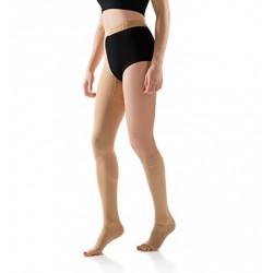 FLEBYSAN monocollant+gambaletto SAFE TEV PLUS 23-28 mmHg compressione Kit ortopedico NUDO punta aperta