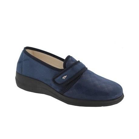 PODOLINE scarpa elasticizzata riabilitativa BREME setaflex STRETCH LAME' BLU