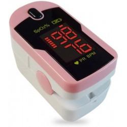 I-TECH pulsossimetro CONCORD PINK misuratore da dito ossigeno sangue/frequenza cardiaca