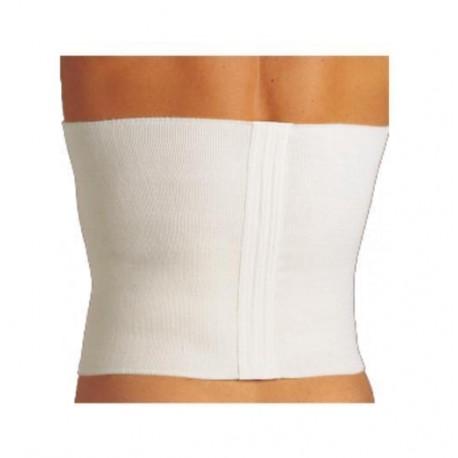 Dr. GIBAUD cintura lana LEGGERA h. 24 cm pancera termoterapia bianca AE BE CE DE