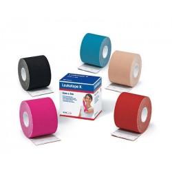 LEUKOTAPE K benda adesiva elastica per fisio-taping cotone/poliacrilato 5cm x 5m