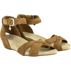 BENVADO sandalo camoscio EMMA CUOIO regolabile caviglia plantare morbido pelle capra
