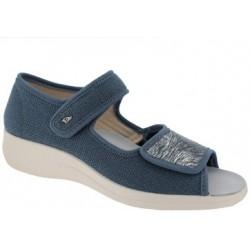 PODOLINE scarpa sandalo riabilitativo donna SIDDI tessuto setaflex AVIO 2 strappi