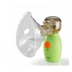 CAMI aerosol mesh KIWI silenzioso compatto portatile batterie 2 mascherine borsa