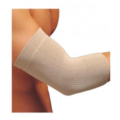 Dr.GIBAUD bracciale termico lana CAMEL cod.0302 h.26cm termoterapia BEIGE Tg unica