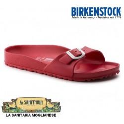 BIRKENSTOCK Ciabatte MADRID EVA 128193 gomma leggerissima 1 fibbia RED ROSSO