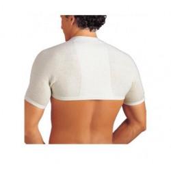 Dr. GIBAUD coprispalle e cervicali ANATOMICO 0402 termico lana bianco