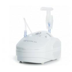 CAMI aerosol a pistone EOLO compatto mascherine ampolla boccheruola forcella nasale con maniglia garanzia 2 anni