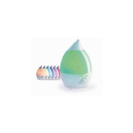 CAMI UMIDIFICATORE 100500 HUMI-RAINBOW ultrasuoni ionizzatore cromo aroma terapia vapore con direzione e intensità rego
