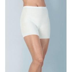 MEDIMA mutandina con gamba lana angora PANTY 1076 pantaloncino termico BIANCO