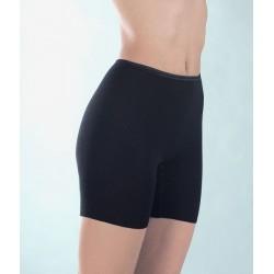 MEDIMA mutandina con gamba lana angora PANTY 1076 pantaloncino termico NERO