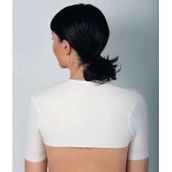 MEDIMA coprispalle mezza manica M309 lana angora protezione cervicali uomo donna termico