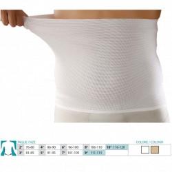 ORIONE cintura post operatoria elastica 3023 tubolare h.30cm BIANCA fascia contenitiva pancera medico chirurgica