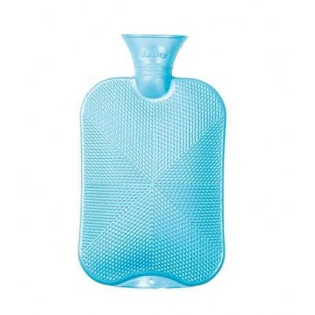 FASHY borsa acqua calda F6445 cristalli AZZURRO boule tappo antiperdita 2 litri