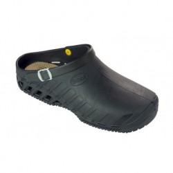 SCHOLL zoccolo professionale lavoro EVO NERO scarpa gomma plantare estraibile