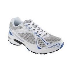 Dr SCHOLL scarpa ginnastica sportiva NEW SPRINTER BIANCO/BLU plantare Biomech.